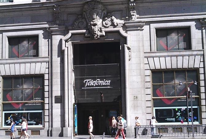 Oficinas Centrales Fundación telefónica