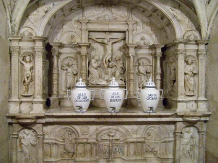 Detalle de Altar de la Mezquita de Córdoba