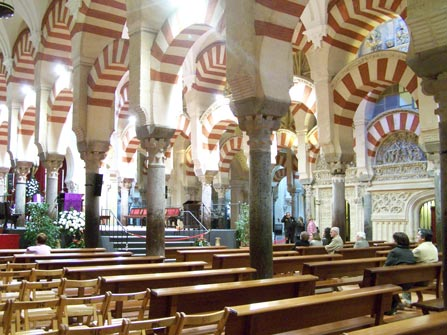 La Mezquita de Córdoba, interior
