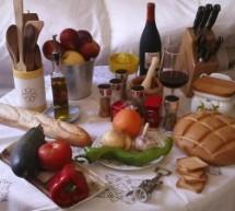 Dieta Mediterránea la trilogía: trigo, olivo y vid