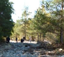Comienzan las obras de recuperación de los tramos del Camino de Santiago aragonés afectados por el temporal de octubre