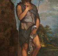 El Museo del Prado restaura el cuadro San Juan Bautista de Tiziano