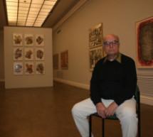 Exposición de Luis Gordillo Premio Nacional de Arte Gráfico 2012