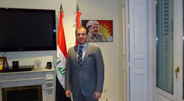 Daban Shadala Representante del Gobierno Regional del Kurdistán en España