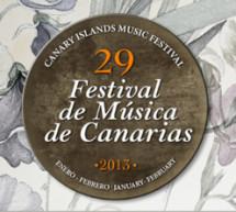 Canarias celebra el 29 Festival de Música Clásica del 11 de enero al 15 de febrero de 2013