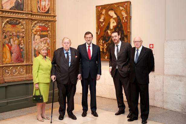 Museo del Prado acto de  donación