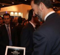 Los Príncipes de Asturias inauguran FITUR 2013 en Madrid