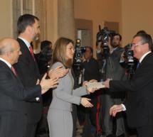 Los Príncipes de Asturias entregan los Premios Nacionales de 2011 y 2012