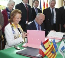 Las regiones de Aragón y Aquitania acuerdan impulsar con determinación la reapertura del Canfranc
