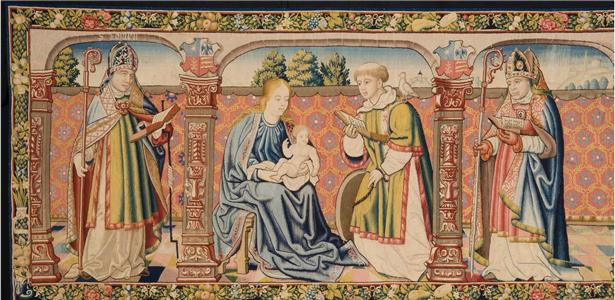 Acto de restitución del tapiz robado de la antigua Catedral de Roda de Isábena y firma del Memorando de Entendimiento de Parques Nacionales y Estados Unidos