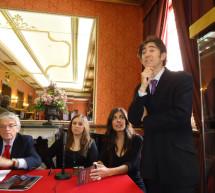 La Fundación de la Zarzuela organiza un concierto en el Teatro de La Zarzuela a beneficio de la Asociación Párkinson Madrid (España)
