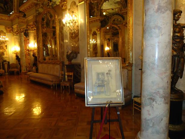 Exposición Grafitos de Emilio Serrano. Museo Cerralbo. Foto: patrimonioactual.com