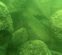 Una estructura de piedra misteriosa, descubierta en el fondo del Mar de Galilea en Israel hace nueve años, podría ser un montículo de origen humano