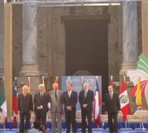 El I Aniversario de la Alianza del Pacífico se celebra en la ciudad de Mérida en España