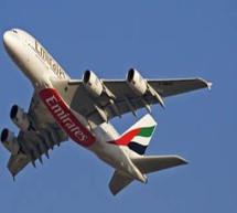 El A380 de Emirates celebra su 5º aniversario