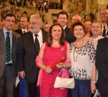 La Alhambra de Granada protagonista de la entrega de los Premios Europa Nostra en Atenas por la restauración del Patio de los Leones