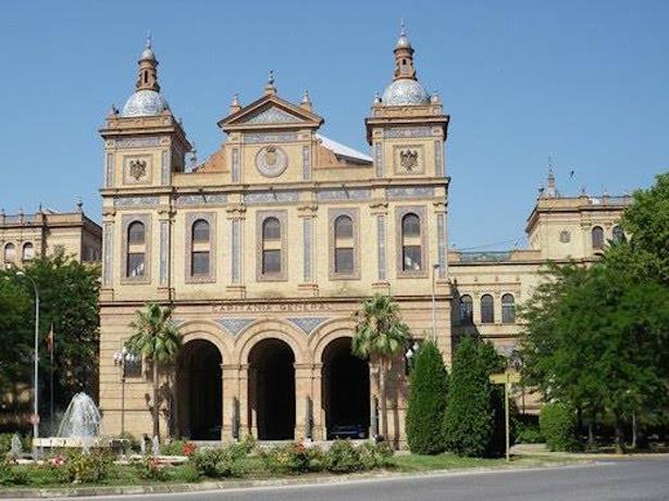 Edificio de la Capitania General de Sevilla