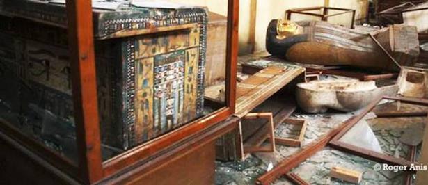 Alerta: saqueo del Museo Nacional de Mallawi en Egipto