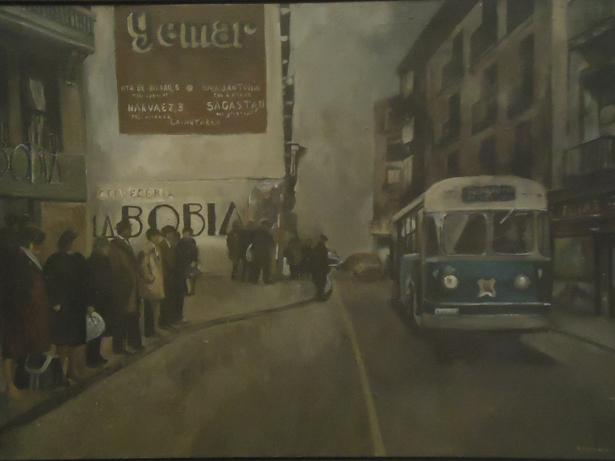 El Museo de la Real Academia de Bellas Artes de San Fernando expone una selección de óleos de Amalia Avia
