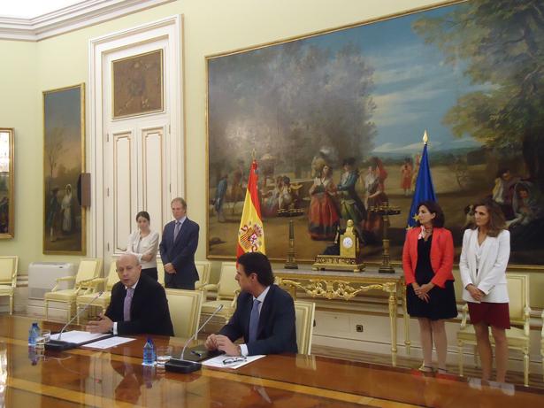Los Ministerios de Industria, Energía y Turismo, y de Educación, Cultura y Deporte firman un protocolo para promocionar España como destino turístico cultural