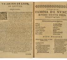 El Ayuntamiento de Madrid exhibe la más completa colección de primeras ediciones de Lope de Vega