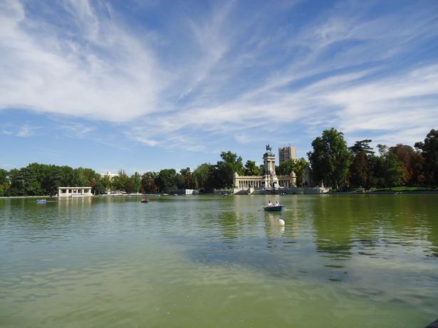 Madrid. Parque del Retiro. Foto: © patrimonioactual.com