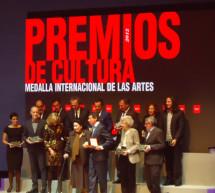 La Comunidad de Madrid entrega los Premios de Cultura y la Medalla Internacional de las Artes