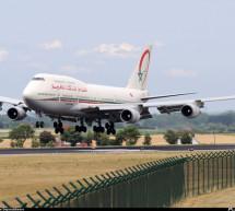 La línea aérea Royal Air Maroc  une Madrid y Marrakech