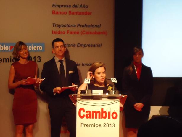 Cambio 16 entrega los Premios a los mejores del 2013