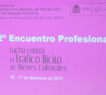 II Encuentro Profesional 'Lucha contra el Tráfico Ilícito de Bienes Culturales'