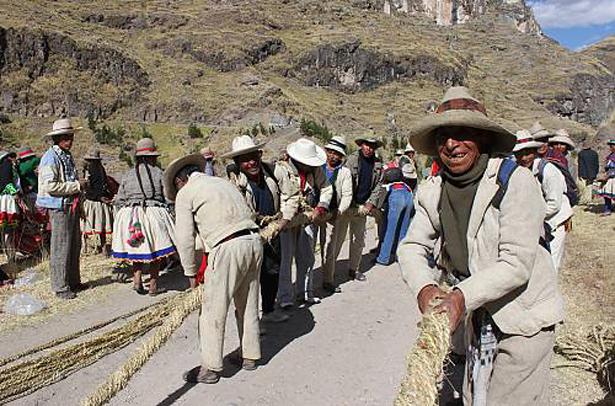 UNESCO ©2010 Instituto Nacional de Cultura Puente Q´eswachaka - Perú