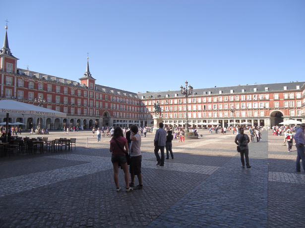 Madrid. Plaza Mayor. Foto: © patrimonioactual.com