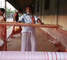 El arte tradicional de tejer el jamdani