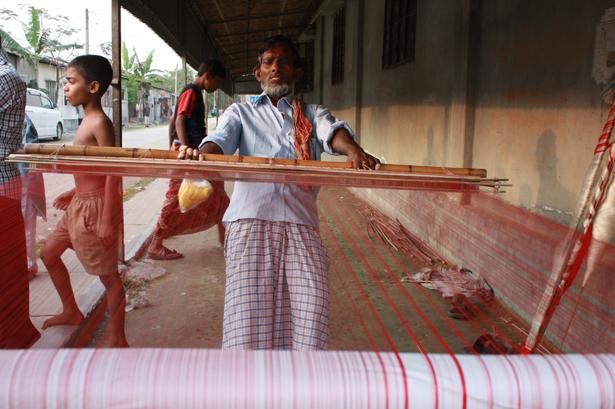 UNESCO. El arte tradicional de tejer el jamdani © Murshid Anwar