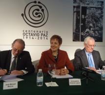 Presentación en Madrid del Programa Conmemorativo del Centenario de Octavio Paz