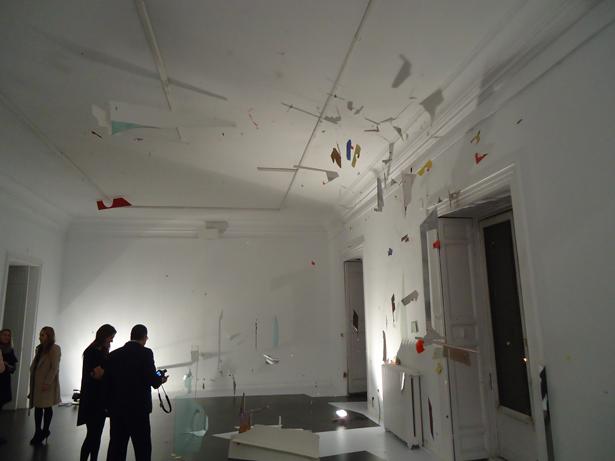 """En el Instituto Italiano de Cultura de Madrid podemos ver la exposición de Diana Sirianni """"Desorden en Palacio"""""""