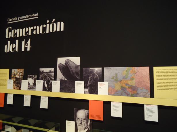 BNE. Exposición Generación del 14. Ciencia y modernidad. Foto: © patrimonioactual.com