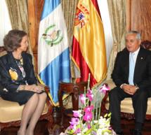 La República de Guatemala recibió a la Reina Doña Sofía en su viaje de Cooperación Internacional