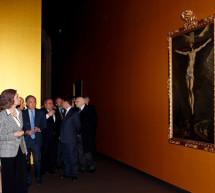 """S.M. la Reina inaugura """"El Griego de Toledo"""" la mayor exposición del Greco realizada hasta la fecha"""