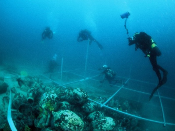 UNESCO. Foto: © D. Frka/UNESCO, Prospección submarina