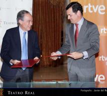 El Teatro Real y RTVE fortalecen sus vínculos