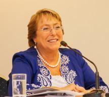 La Presidenta de Chile recibe la Carta Abierta de la OMT y el CMVT sobre los viajes y el turismo