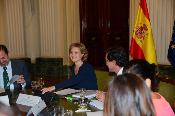 Isabel García Tejerina y el Patronato de la Fundación Biodiversidad