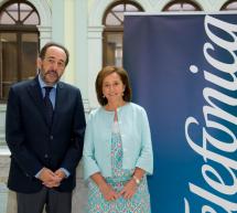 Nuevo convenio entre la BNE y Telefónica