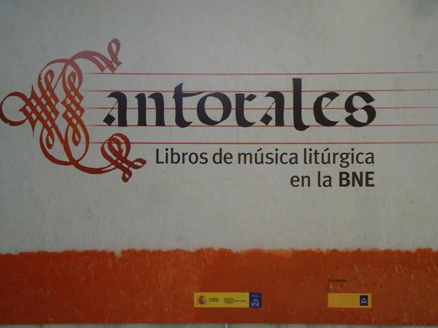 BNE. Exposición Cantorales