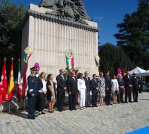 México celebra en Madrid la Ceremonia Cívica en el Monumento a Miguel Hidalgo
