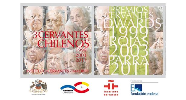 La exposición 3 Cervantes Chilenos se inaugura en Madrid