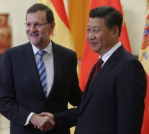 Mariano Rajoy se reúne en el Instituto Cervantes de Pekín con hispanistas