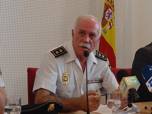 Antonio Tenorio, Inspector Jefe de la Brigada de Patrimonio Histórico del CNP. Foto: © patrimonioactual.com