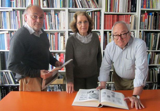 B.A.B. Arquitectos. Eduardo Barceló, Mercedes Álvarez e Ignacio Barceló
